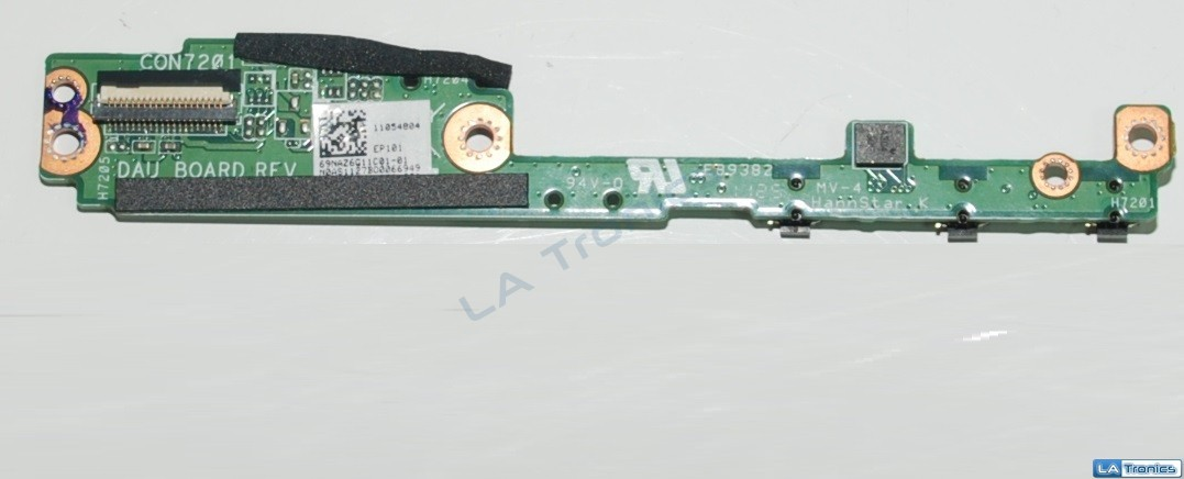 Asus Eee TF101 DAU Power Button LED Board 69NAZ6G11C01-01 11054804 CON7201