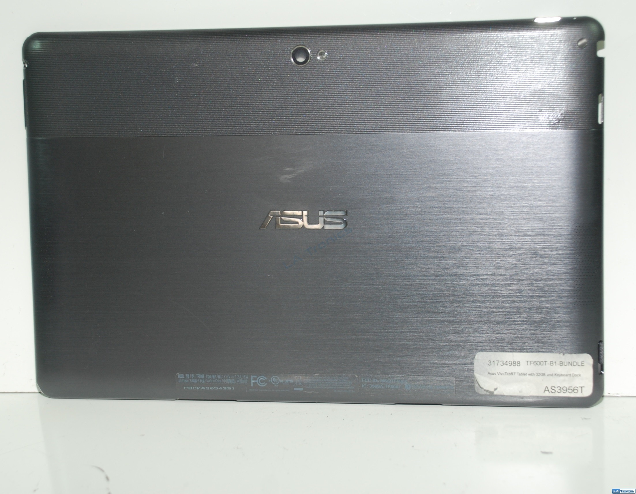 "Asus TF600T TF600 10.1"" Tablet LCD Back Top Cover 13NM-0IA0501 13GOK0N1AM090-10"