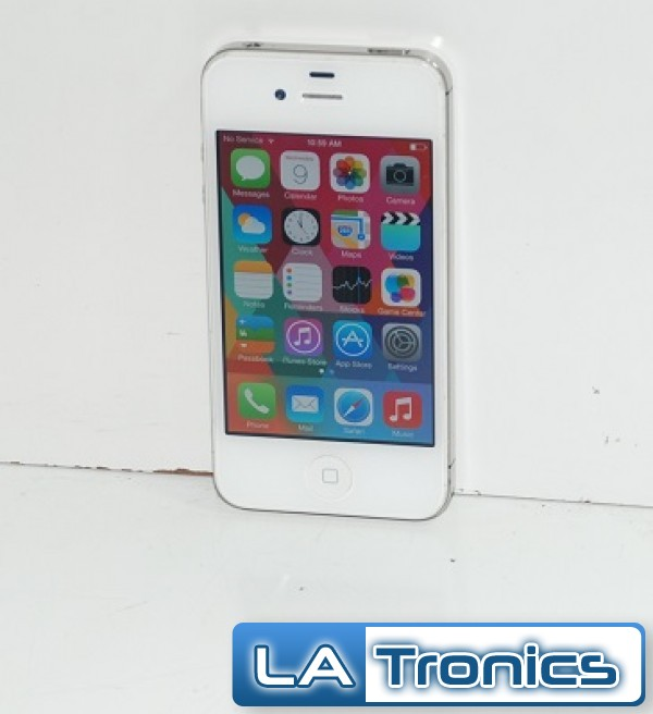 Apple iPhone 4 8GB MD200LLA 3G White Sprint A1387 Touch Screen ...