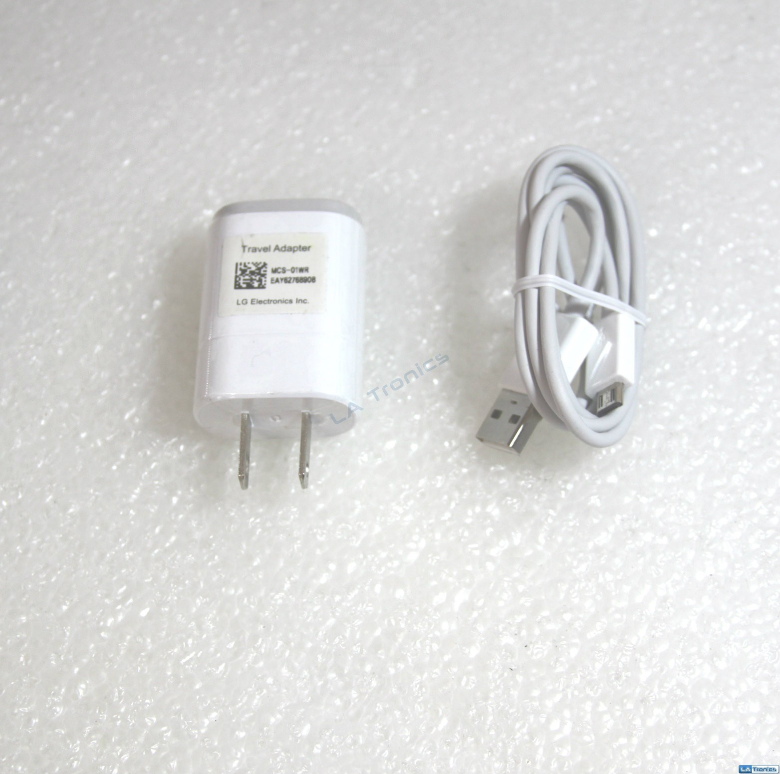 NEW OEM LG Wall Travel Home AC Phone Adapter Micro USB Charger MCS-01WR