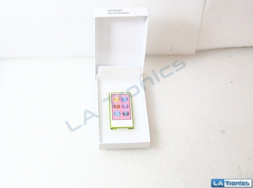 NEW Apple iPod Nano 16GB 7th Gen MD476LL/A A1446 Touch Yellow MP3 Media Player