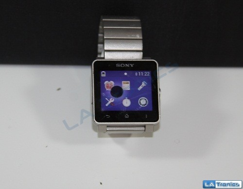 AS-IS Sony SW2 Smartwatch 2 SW2SIL Stainless Steel Bluetooth Digital Android