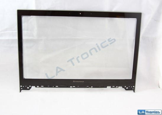 "Lenovo IdeaPad P500 Front Glass Touch Digitizer Screen 15.6"" AP0SY000810 w Bezel"