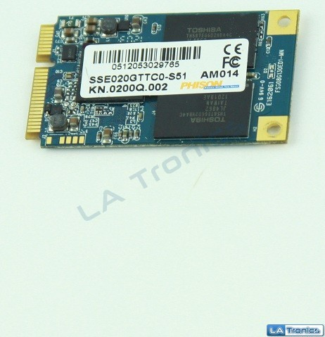 Acer Aspire M3-581T SATA SSD 20Gb SSE020GTTC0-S51 KN.0200Q.002 Tested