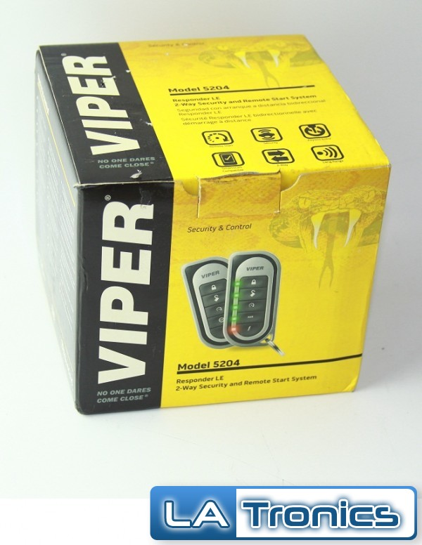 Viper 5204v Responder Le 2 Way Car Alarm Security Remote
