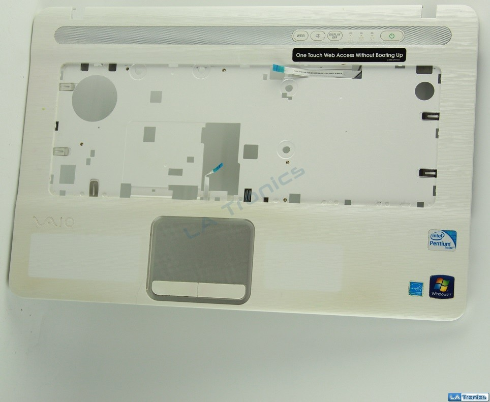 Sony VGN-NW Palmrest, Touchpad, Speakers 012-132A-1378 Tested, Grade B *Read*