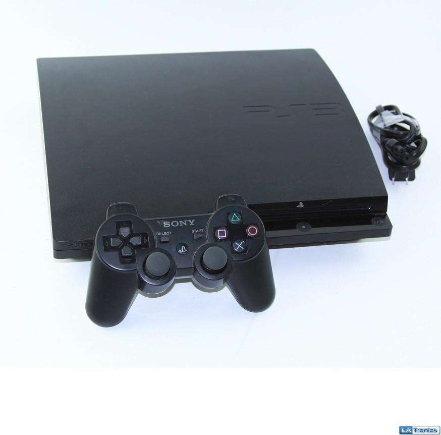 Sony Playstation 3 PS3 160GB Game Console CECH-3001A (Black)