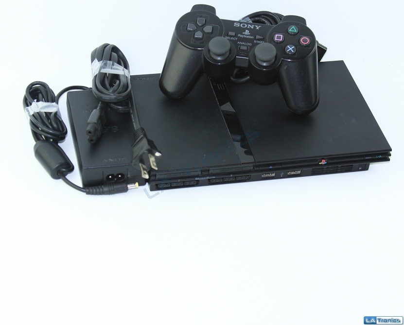 Sony Playstation 2 PS2 Charcoal Black Gaming Console SCPH-79001