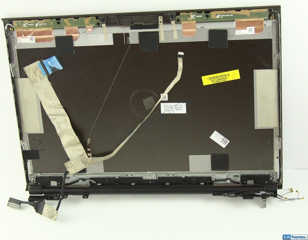 18204_Dell-Precision-M4700-156-LCD-Back-Cover-LCD-Cable-Antennas-Hinges-62HFH-Read_2.JPG