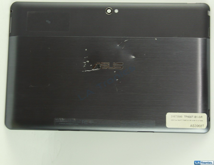Asus Vivo Tab RT TF600T Back Cover + 3.7V Battery TF6PSG3 C12-TF600T Tested