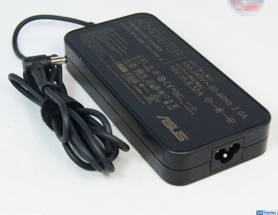 Genuine Asus 19V 6.32A 120W Laptop Power Adapter Charger N76 GL551 GL552 GL752