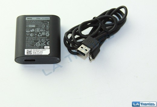 New Genuine 24W Dell Venue 11 8 7 Pro Tablet AC Power Adapter KTCCJ HA24NM130