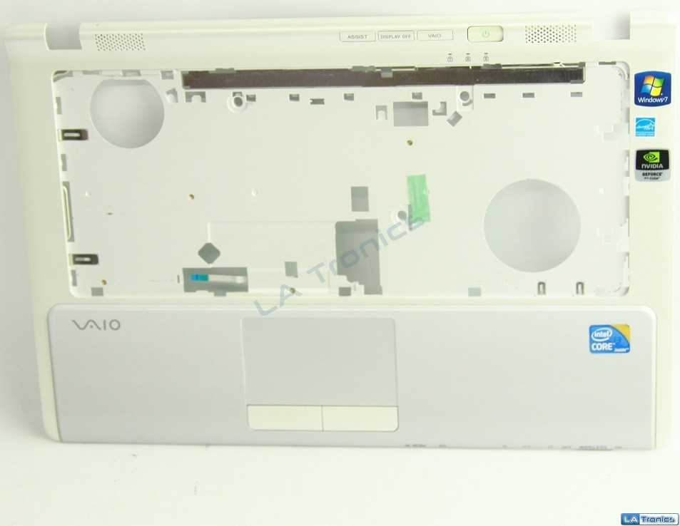 Sony Vaio VPCCW21FX Palmrest, Touchpad, Ribbon Cable 012-110A-2365-A Grade B