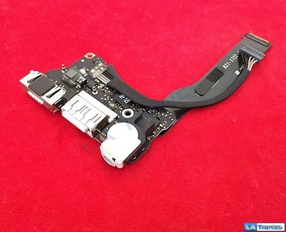 "New OEM Apple Macbook Air 13"" A1466 2013-2015 DC Power USB Audio Board W/Cable"