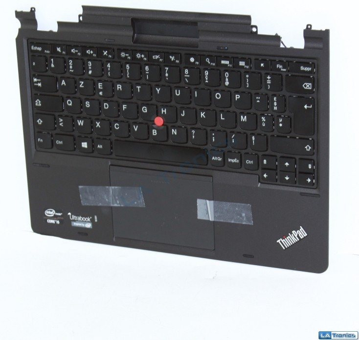 Lenovo Thinkpad X1 HELIX Palmrest, Touchpad, French Keyboard  MP-12F66F0-442