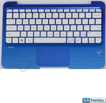 HP Stream 11-r091nr 11-r Series Keyboard Touchpad Top Case Palmrest EAY0H00301A