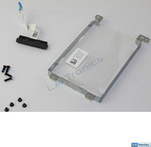 "Genuine Dell Inspiron 5758 17.3"" Hard Drive Caddy w/Connector Screws XHPG1 0KT1K"
