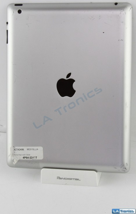 Apple iPad 4 A1458 MD515LL/A Back Cover Housing + Battery A1398 Grade C