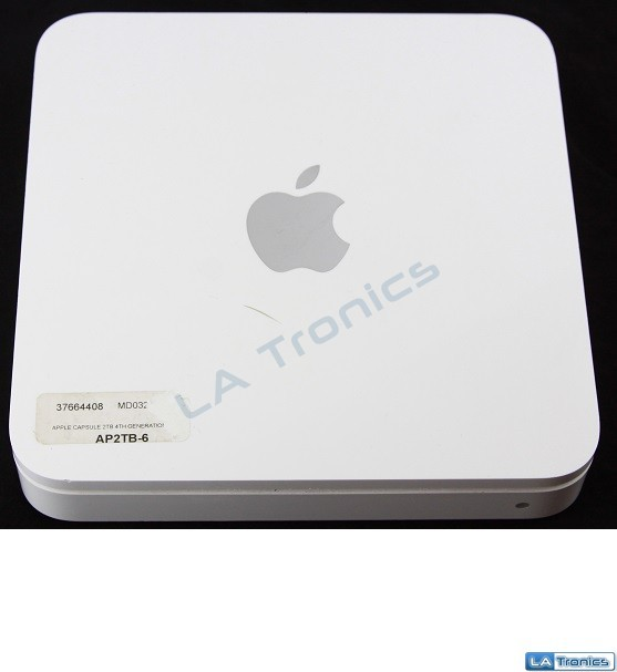 Apple Time Capsule WiFi Airport External 2TB Hard Drive 4th Gen MD032LL/A A1409