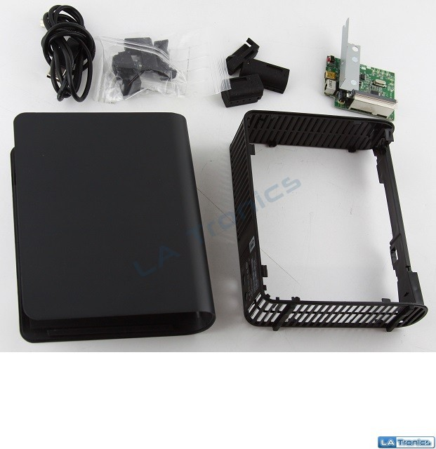 "WD My Book 3.5"" USB 3.0 ENCLOSURE External SATA Hard Drive Case MAC PC"