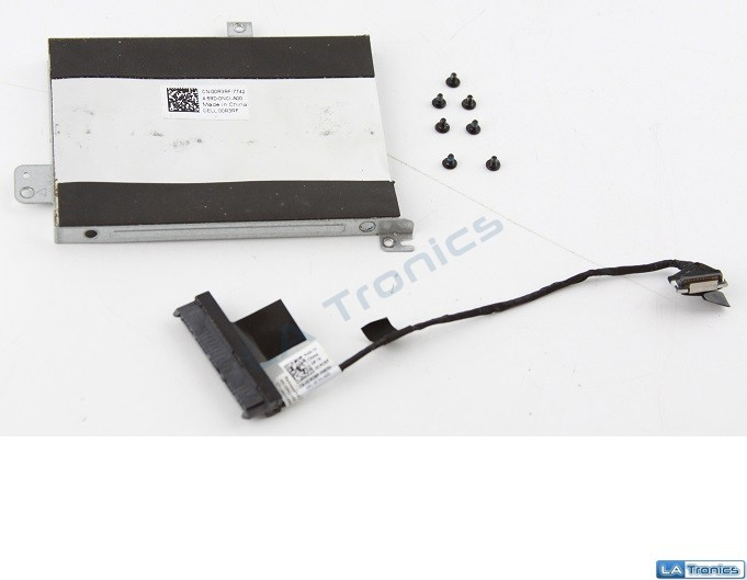 "Genuine Dell Inspiron 15 7568 15.6"" HDD Hard Drive Caddy 0R3RF + Cable CMJXP"