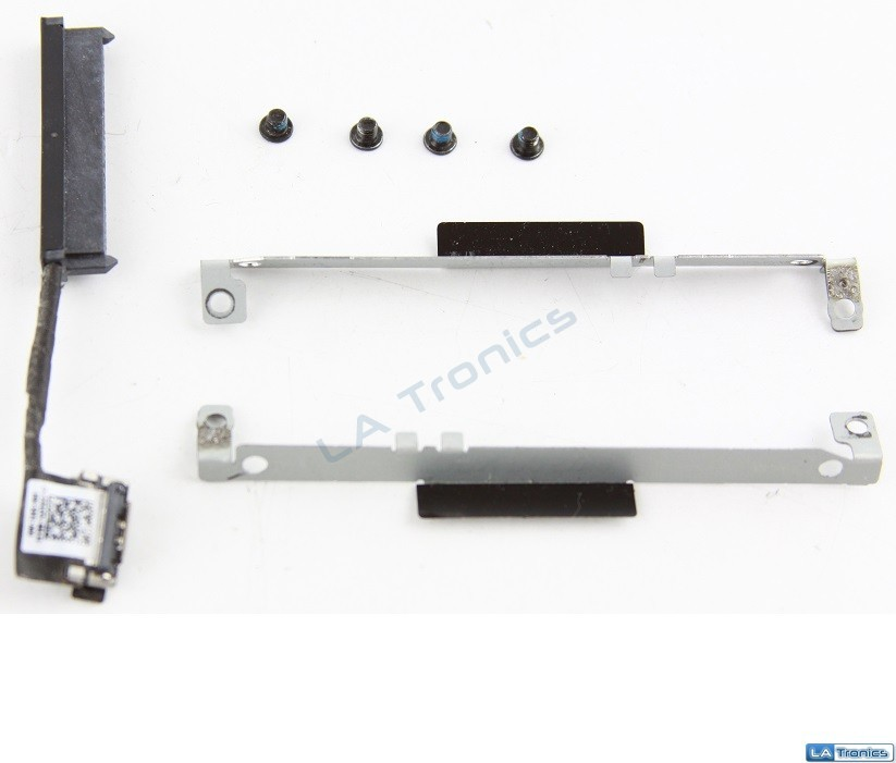 Dell Inspiron 11 3138 Hard Drive Caddy + SATA Connector, Screws P05W9 9R4YN