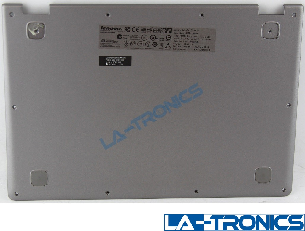 Genuine Lenovo IdeaPad Yoga 11 Bottom Base Cover 11S30500145