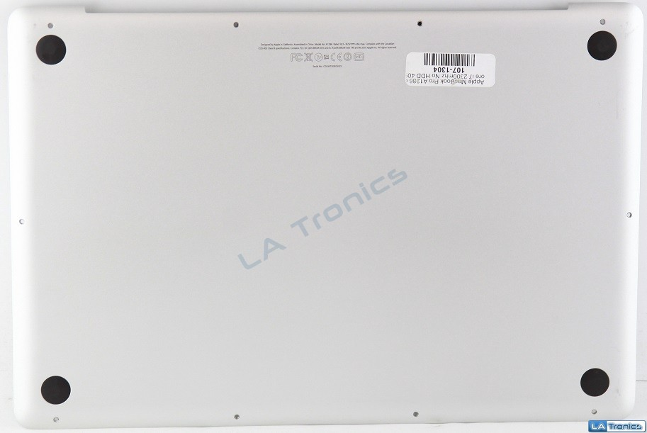 """Genuine MacBook Pro A1286 15"""" Mid-2012 MD104LL/A Bottom Case 604-2751-C"""
