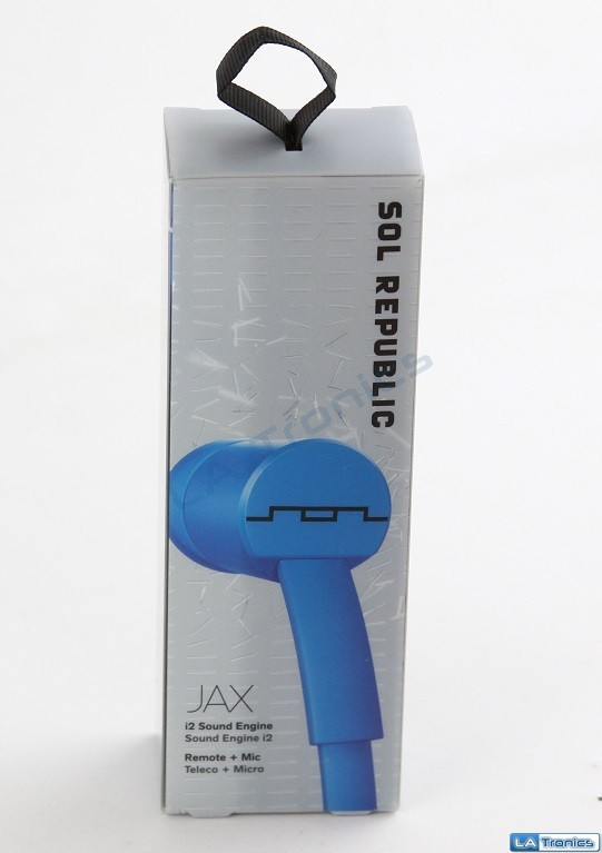 Sol Republic 1112-36 JAX In-Ear Headphones with 1-Button Mic and Music Control