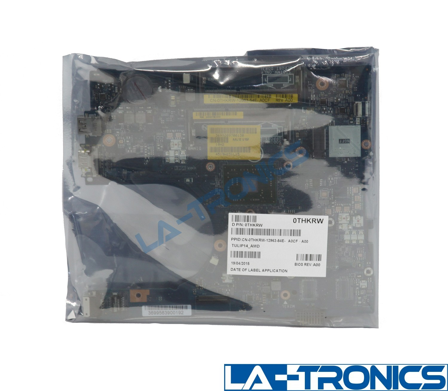 NEW Dell Inspiron 15 5555 Laptop Motherboard AMD A6-7310 2.0GHz THKRW 0THKRW