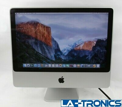 "Apple iMac 20"" A1224 Mid 2007 Intel Core 2 Duo 2.4GHz 4GB 500GB MA877LL/A"