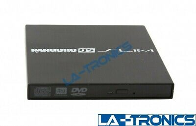 Kanguru External DVD Drive Burner QS Slim 8X DVD 24X CD Writer USB 2.0 U2-DVDRW