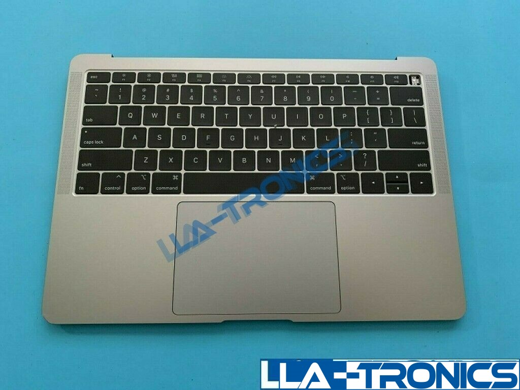 """New Apple Macbook Air 13"""" A1932 Space Gray Top Case Keyboard + Battery 661-12592"""