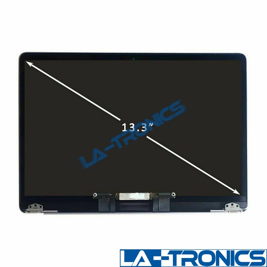 """Apple Macbook Air 13"""" A2179 2020 Space Gray LCD Full Screen Assembly 661-15389"""