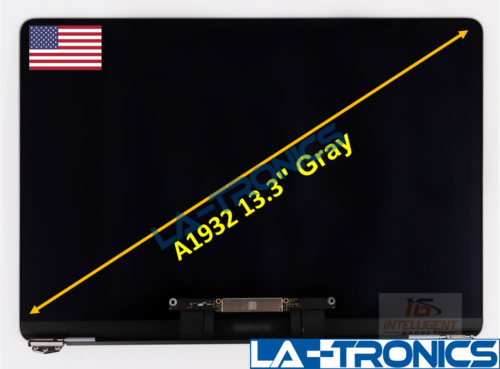 """New Macbook Air 13"""" A1932 Late 2018 Space Gray Full Assembly LCD Screen"""