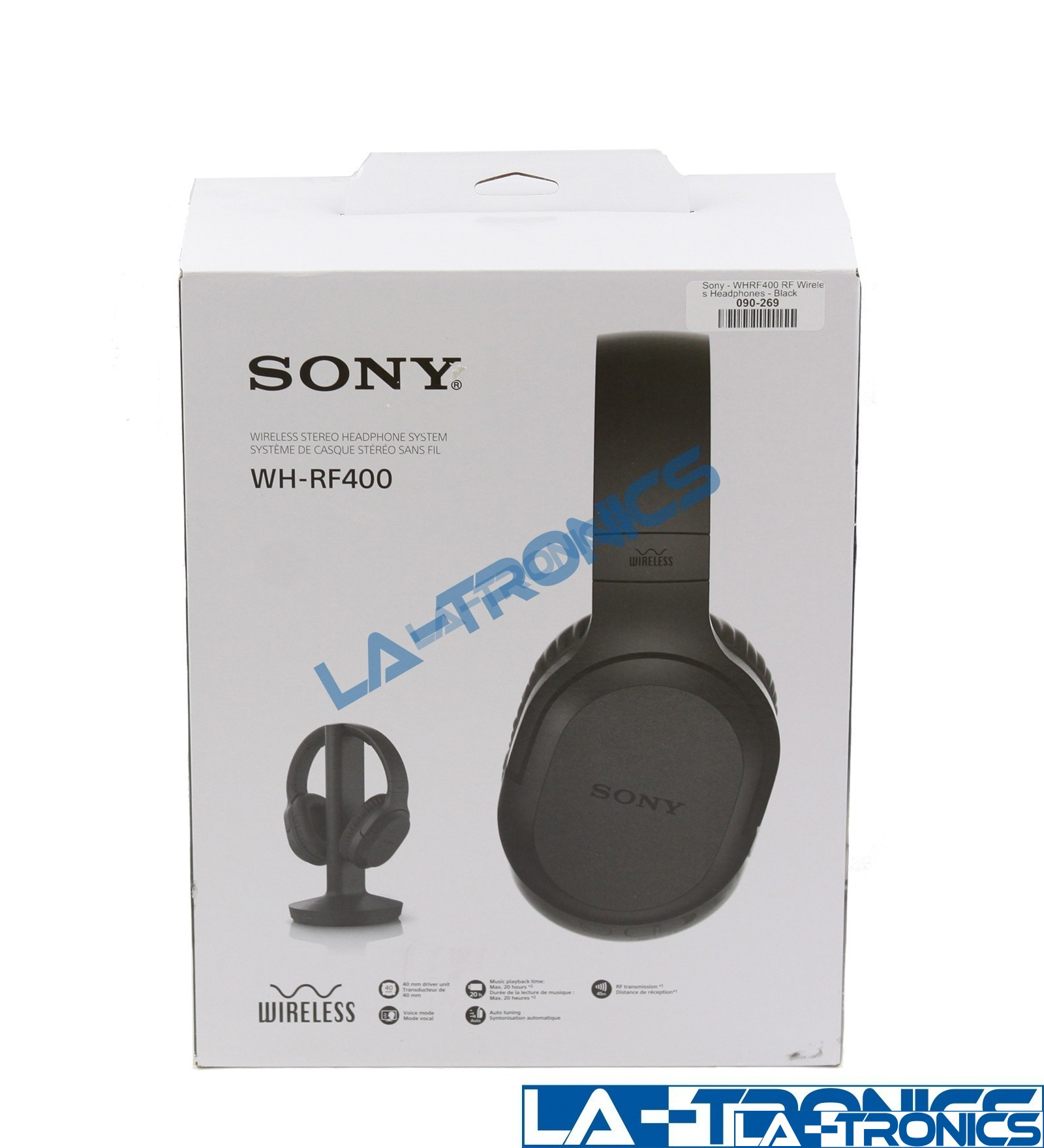 SONY WH-RF400 Wireless Home Theater Headphone System