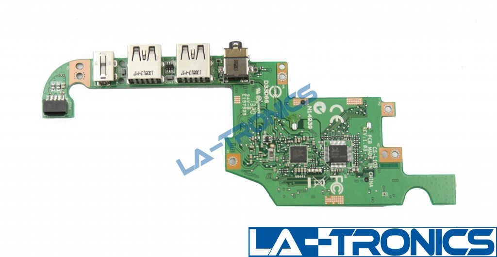 Dell XPS 18 1810 Audio Dual USB SD Card Reader Port Board 36RP9 036RP9