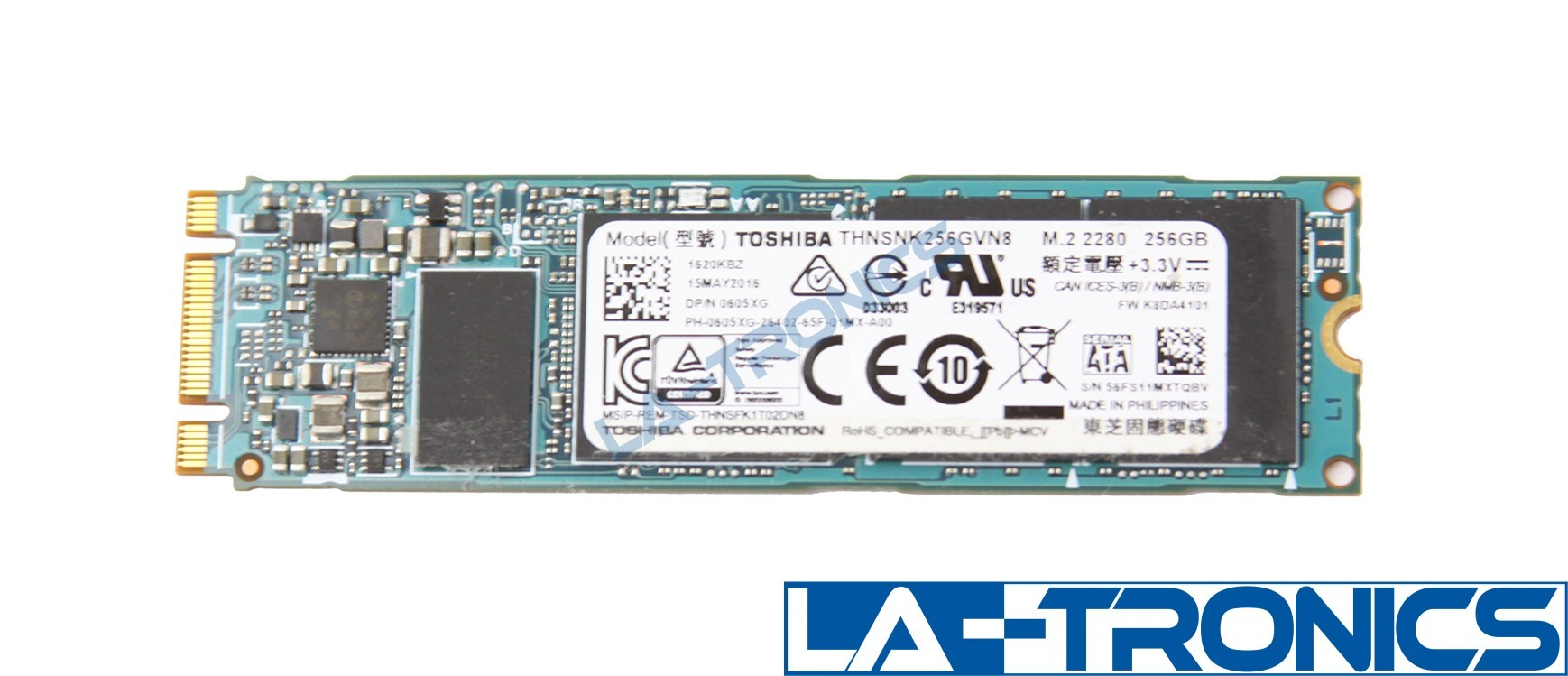 Toshiba THNSNK256GVN8 256GB 1100 M.2 2280 80mm Solid State Drive SATA 6G