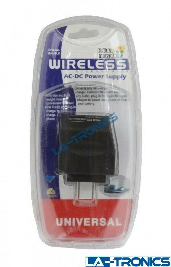 NEW Cellular Innovations Wireless Mini Universal AC/DC Power Supply Adapter