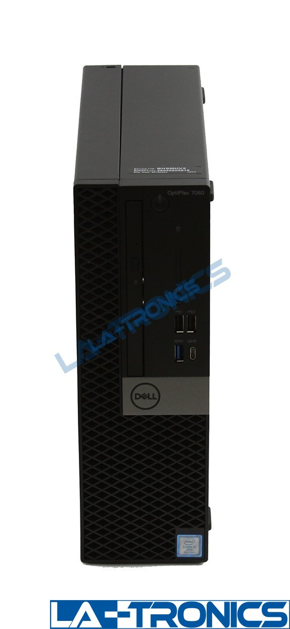 Dell Optiplex 7060 i7 3.20GHz 512GB SSD 16GB RAM D11S004 Desktop Computer PC