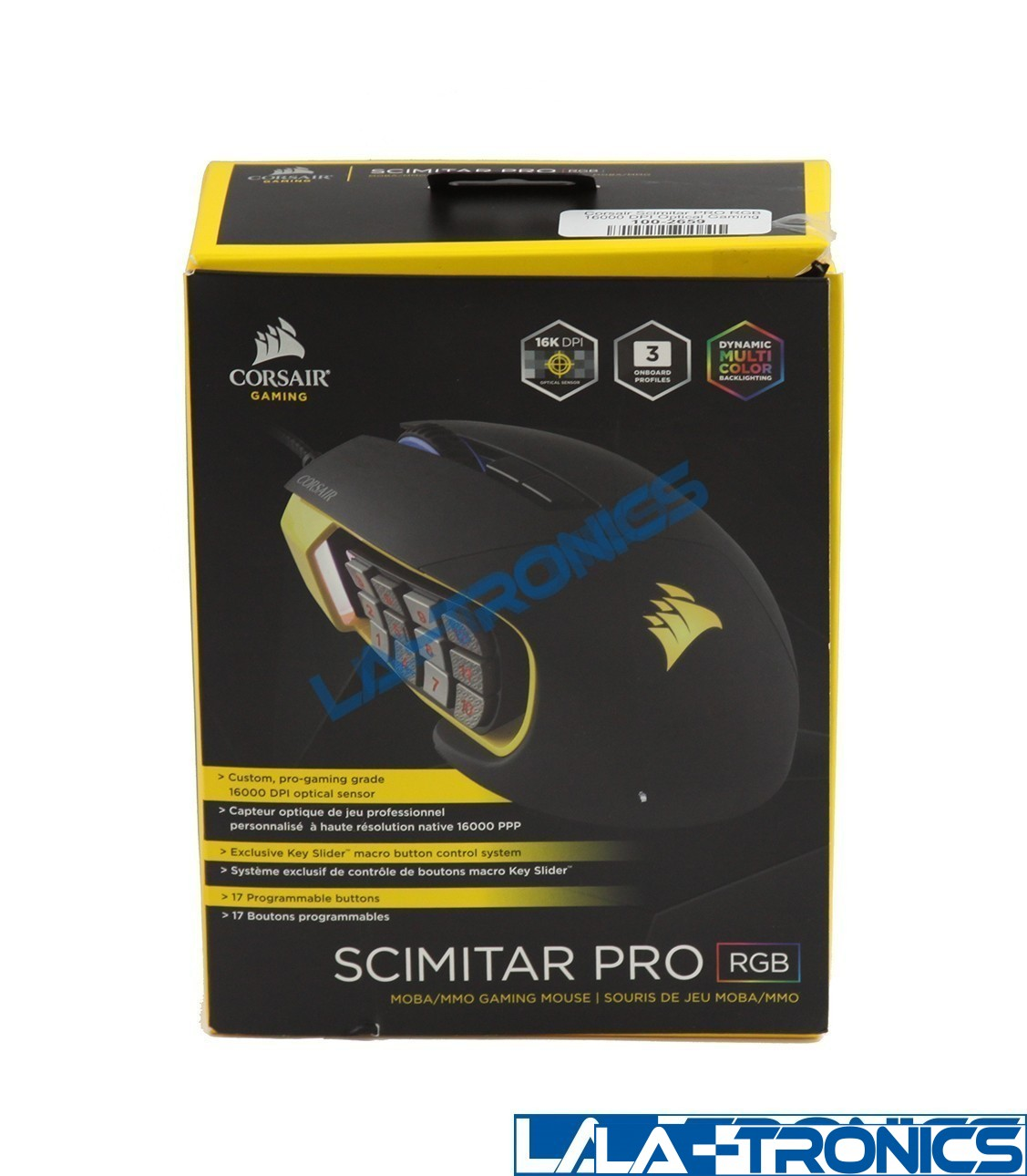 Corsair SCIMITAR PRO CH-9304011-NA Wired USB Gaming Mouse
