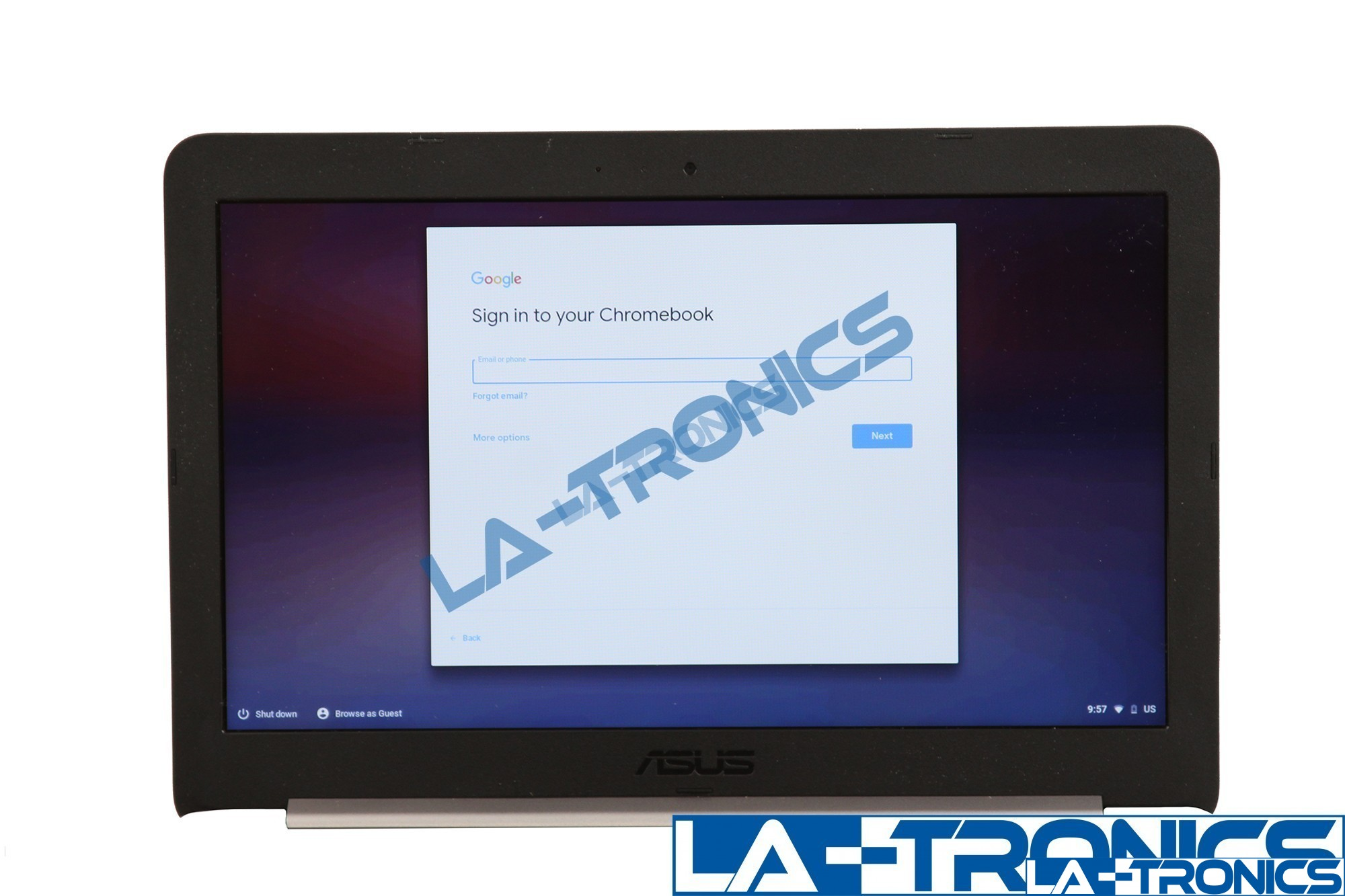"""Genuine ASUS C201 C201P 11.6"""" ChromeBook Glossy LCD Screen Assembly - Navy Blue"""