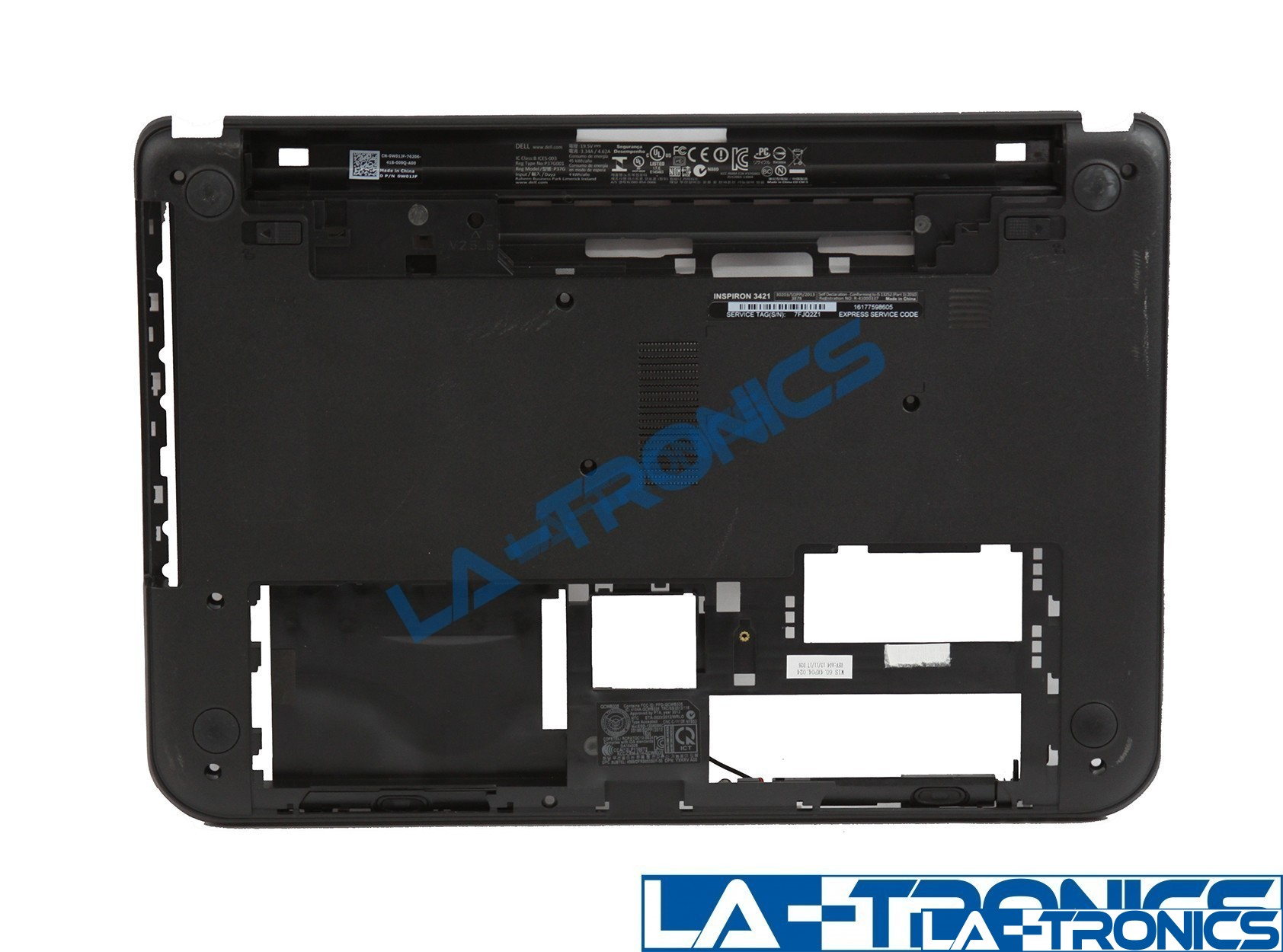 Dell Inspiron 14 3421 Bottom Cover Base Case Lower Lid XK22W 0XK22W
