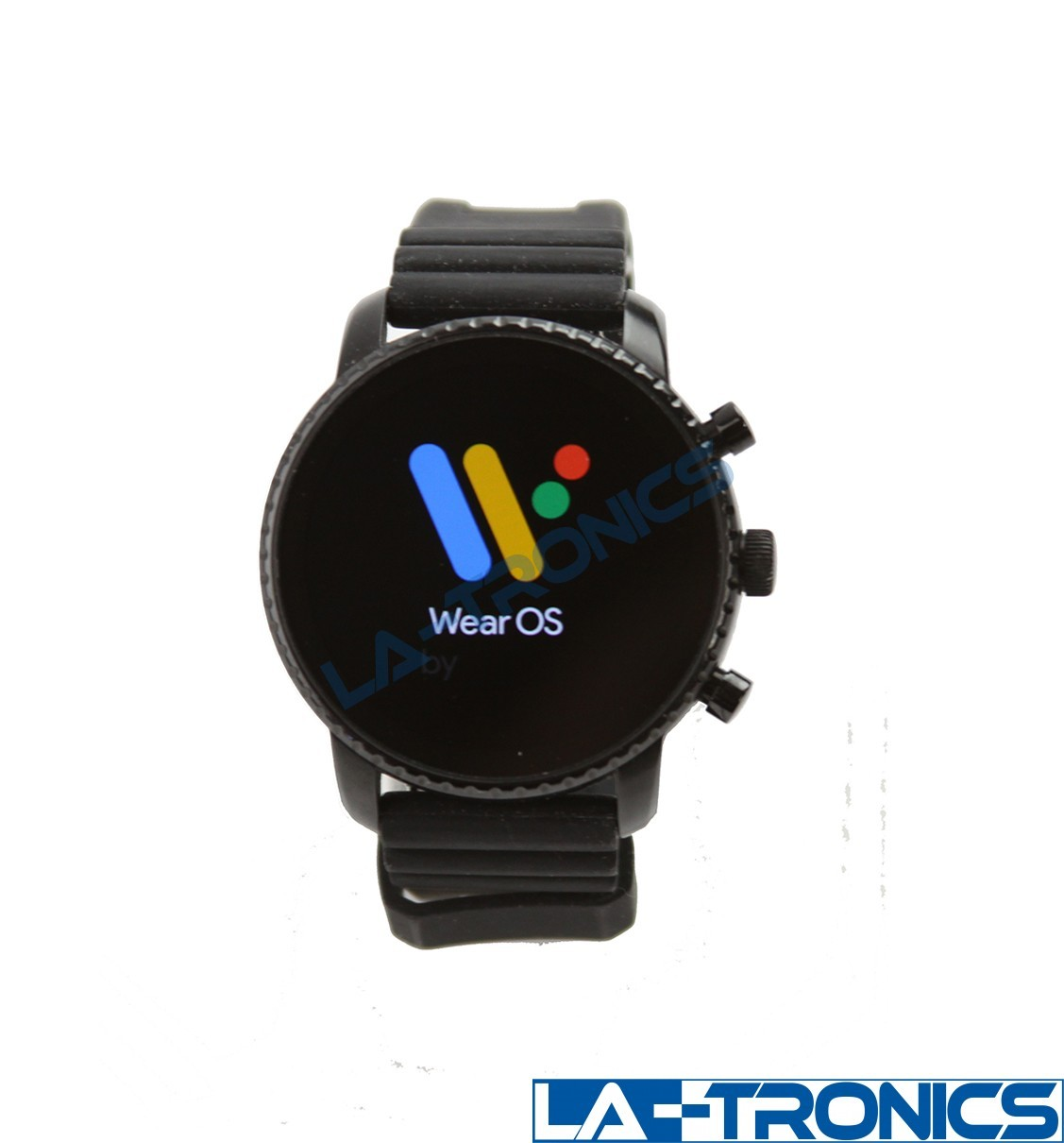 Fossil Gen 4 Explorist HR 45mm Smartwatch with Black Silicone Band - FTW4018