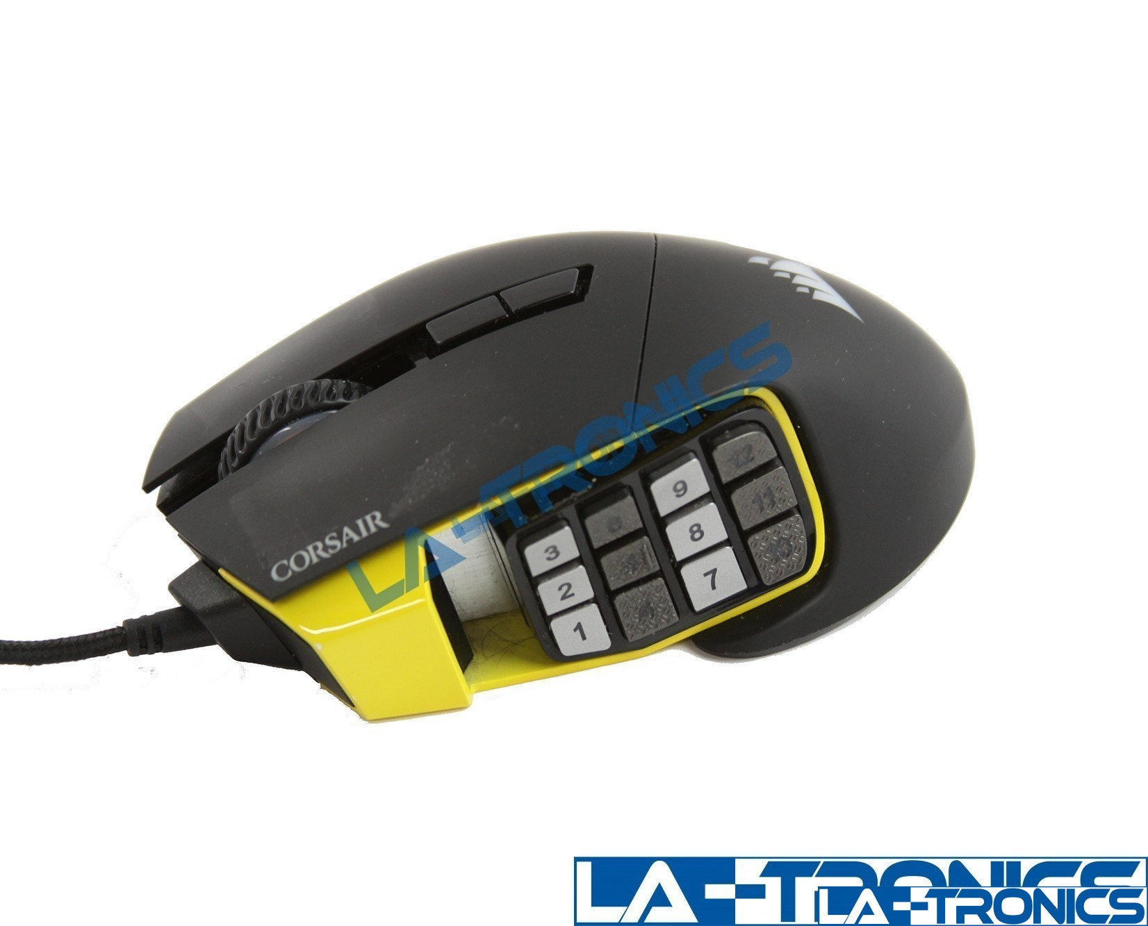 Corsair CH-9304111-NA Scimitar PRO 17 Buttons Wired Optical Gaming Mouse - Black