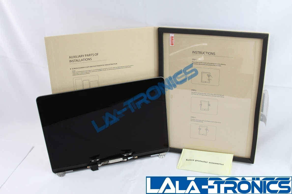 """Apple MacBook Pro 13"""" A1706 2016 LCD Screen Assembly Space Gray + Temper Glass"""