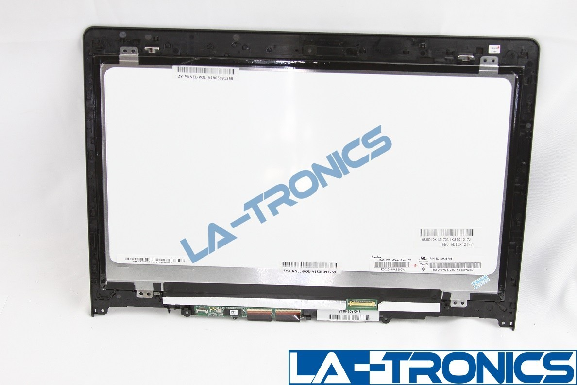 "New Lenovo 14"" Flex 3 14/Yoga 500 Touch Screen Assembly W/Frame 5D10K42173"