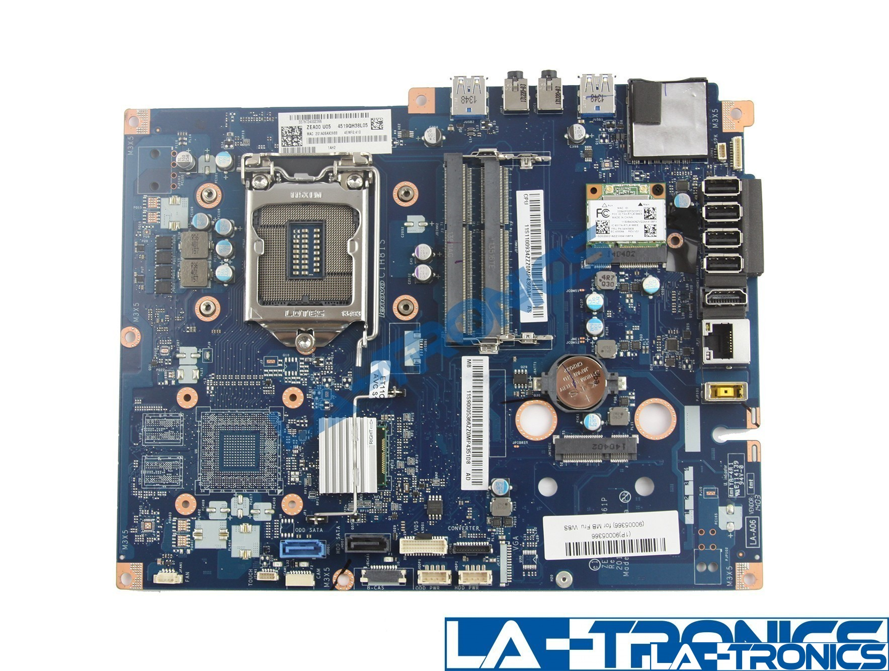Lenovo Motherboard All In One C560 LA-A061P 2G 11S90005378 90005378