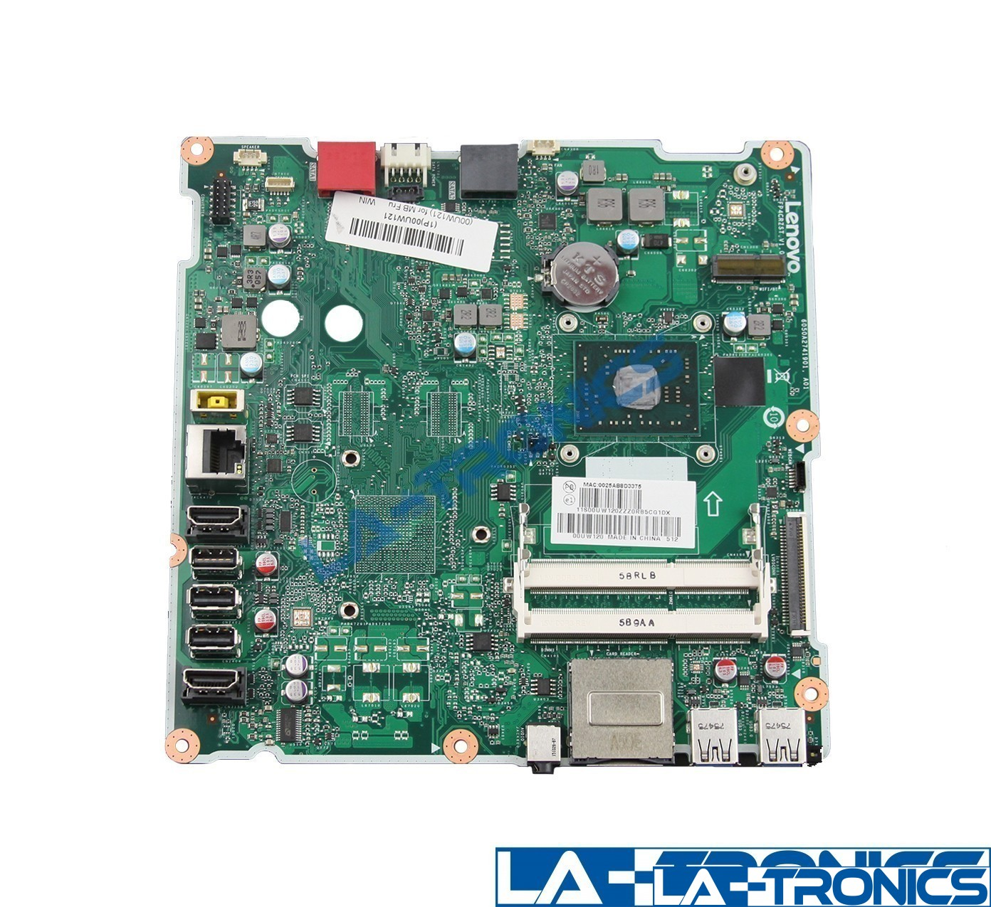 Genuine Lenovo 300-23ACL Laptop Motherboard AMD A4-7210 1.80GHz FP4CRZST 00XG065