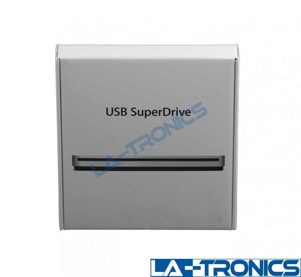 Apple MD564ZM/A SuperDrive 8x External USB Double-Layer DVDRW/CD-RW Drive